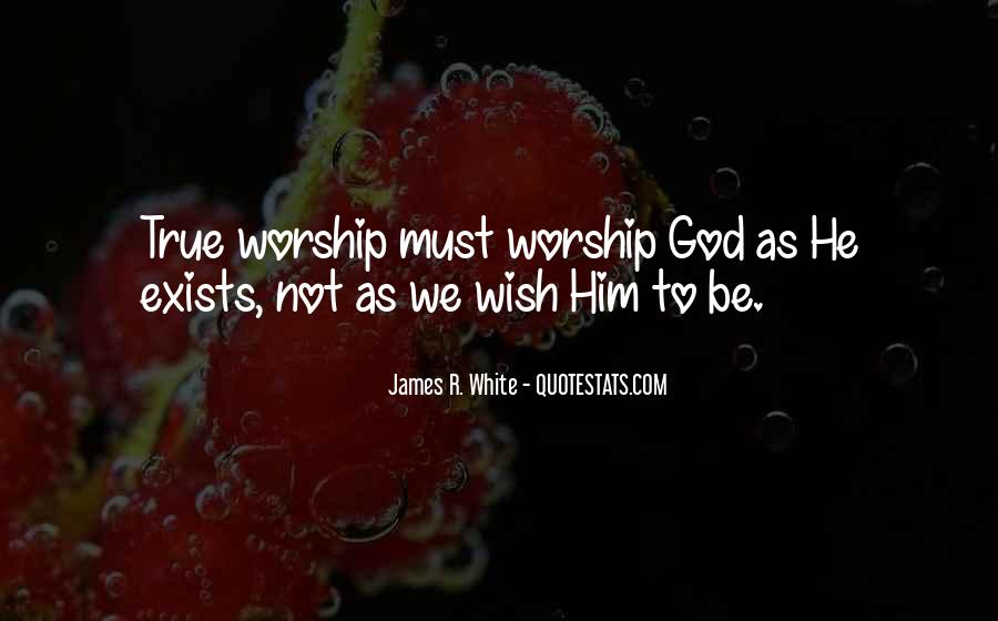 James R. White Quotes #1516363