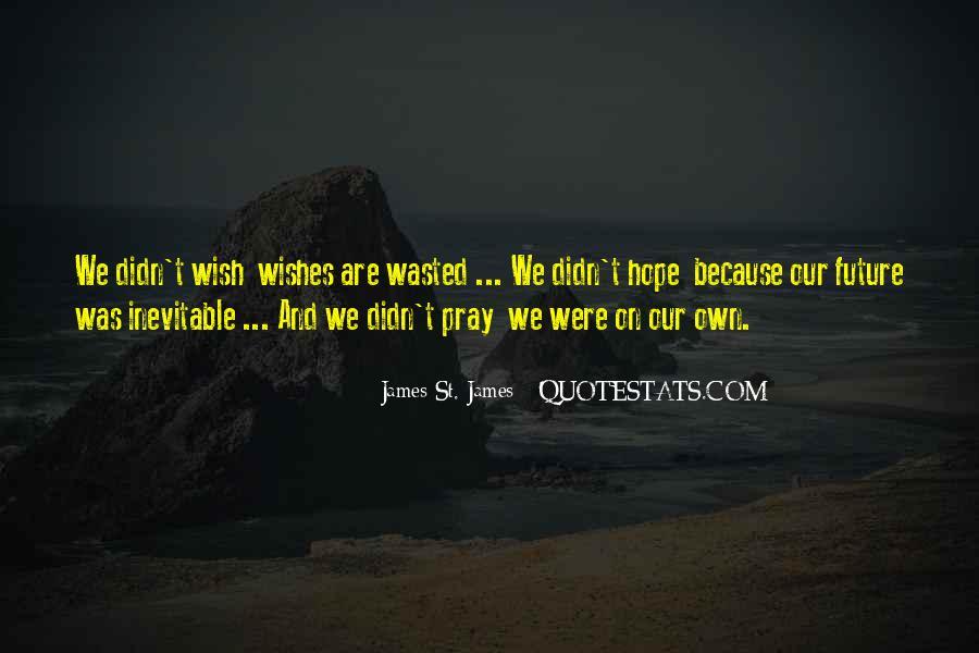 James St. James Quotes #1566423