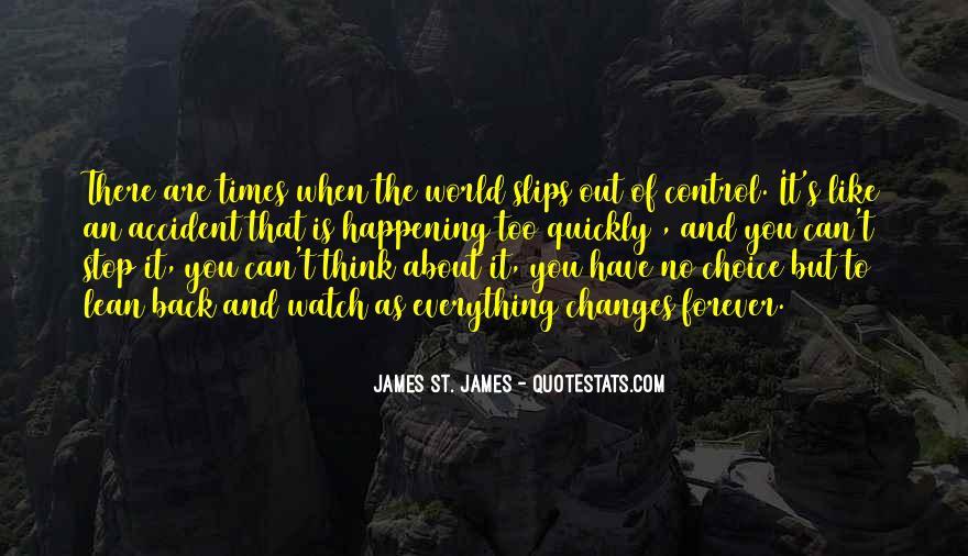 James St. James Quotes #290629