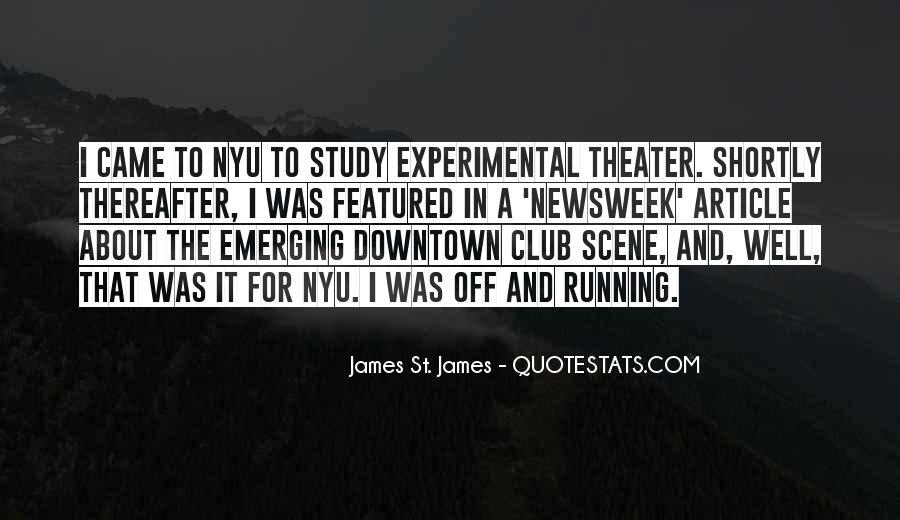 James St. James Quotes #455472