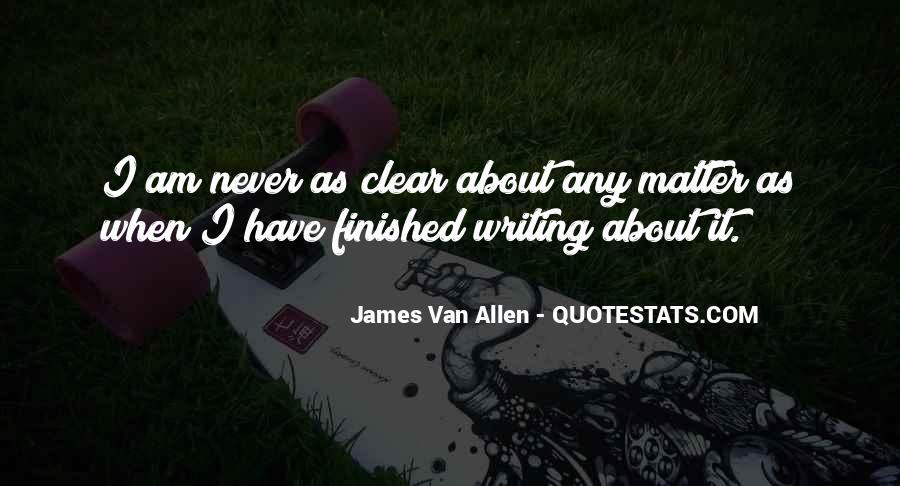 James Van Allen Quotes #1164211