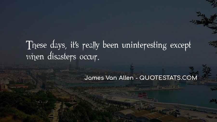 James Van Allen Quotes #67571