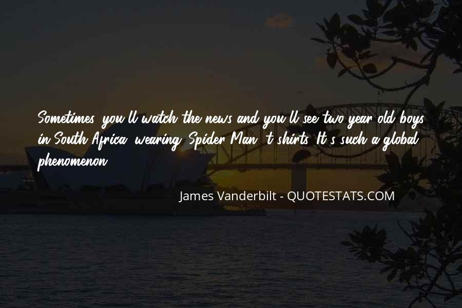 James Vanderbilt Quotes #575337