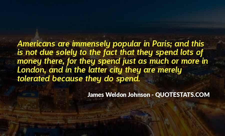 James Weldon Johnson Quotes #1044151