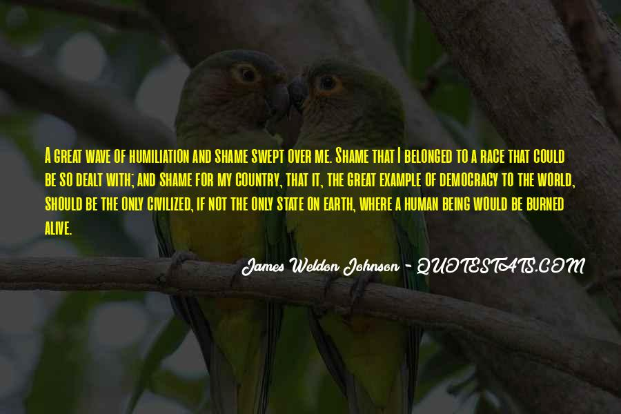 James Weldon Johnson Quotes #1177119
