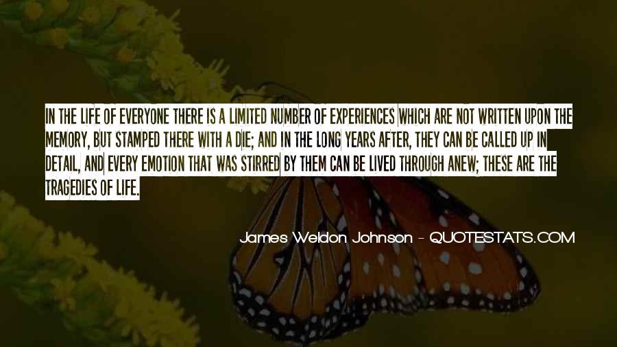 James Weldon Johnson Quotes #1263328