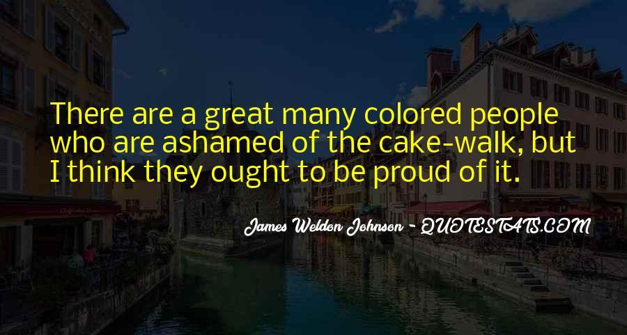James Weldon Johnson Quotes #1426217