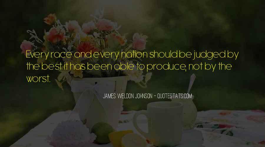 James Weldon Johnson Quotes #1458741