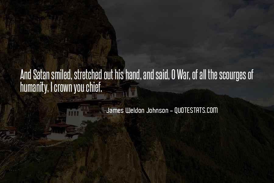 James Weldon Johnson Quotes #1524022