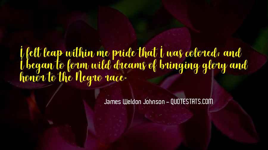 James Weldon Johnson Quotes #168081