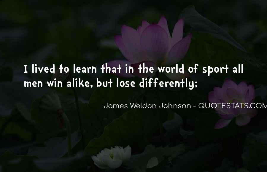 James Weldon Johnson Quotes #1683602