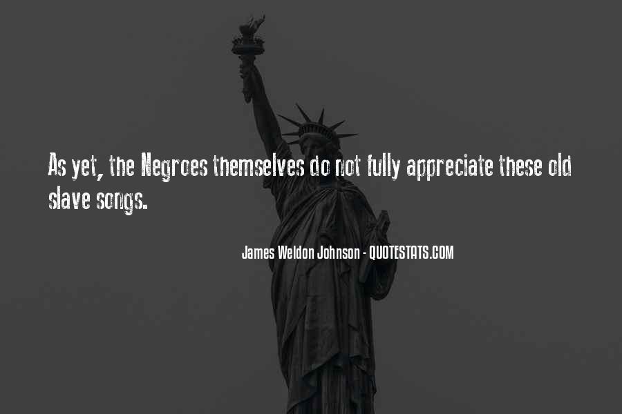 James Weldon Johnson Quotes #1706502