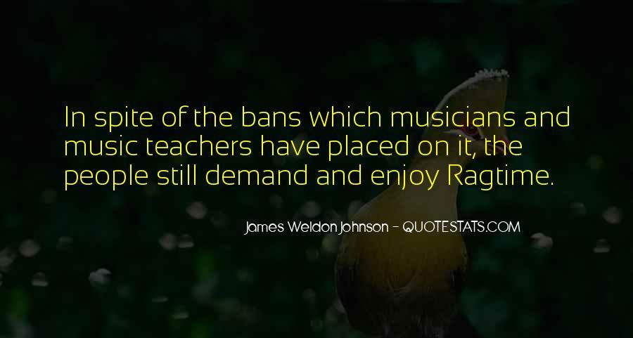 James Weldon Johnson Quotes #1834057