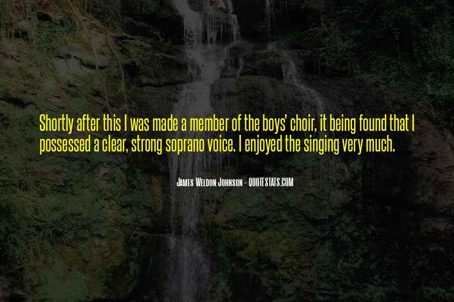James Weldon Johnson Quotes #1847133