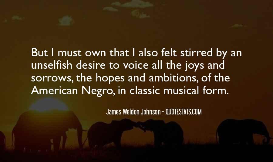 James Weldon Johnson Quotes #1877604