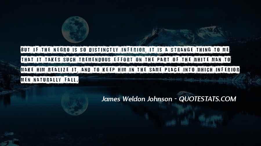 James Weldon Johnson Quotes #245188