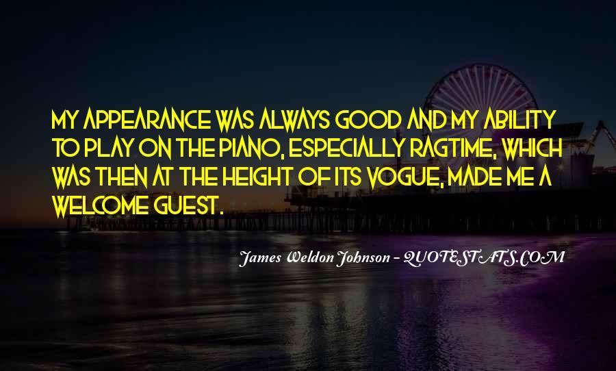 James Weldon Johnson Quotes #367573