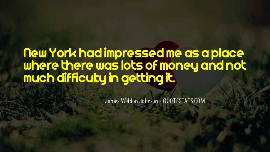 James Weldon Johnson Quotes #409775