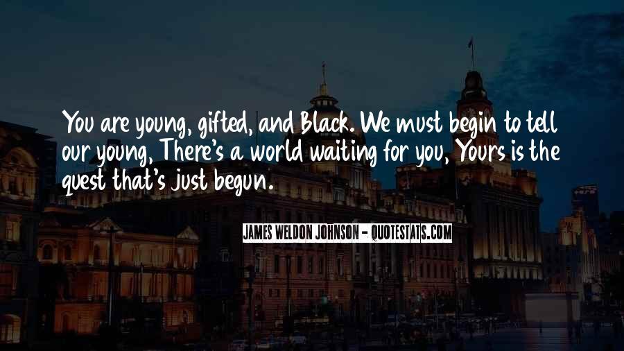 James Weldon Johnson Quotes #530148