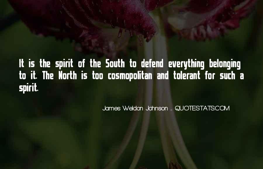 James Weldon Johnson Quotes #543074