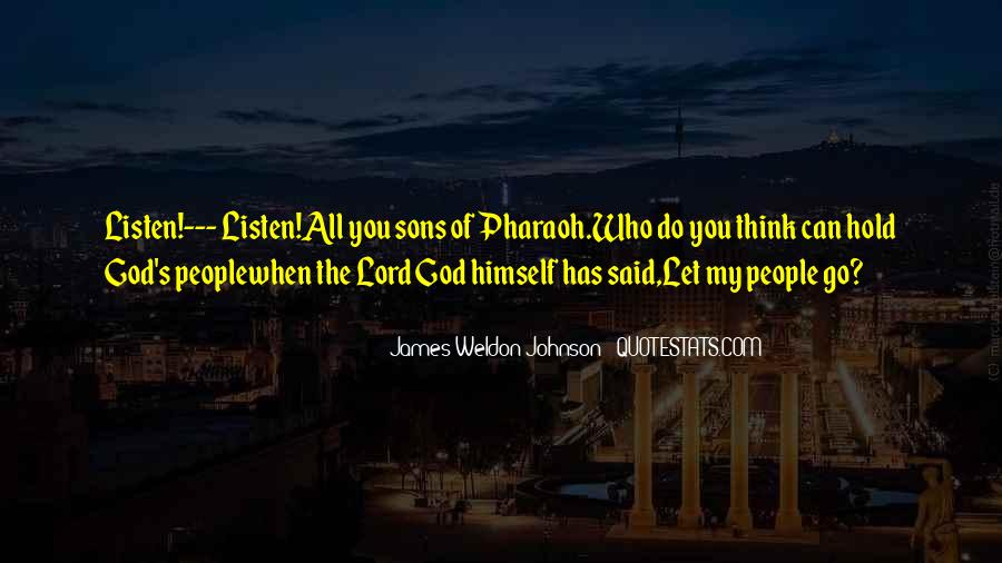 James Weldon Johnson Quotes #616747