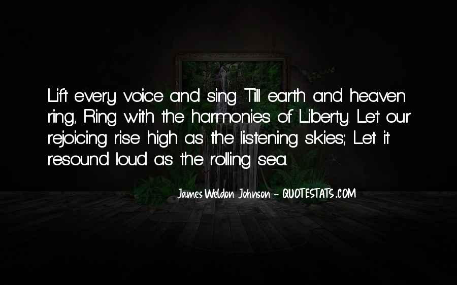 James Weldon Johnson Quotes #703268