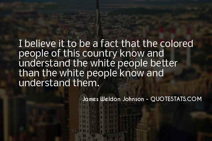James Weldon Johnson Quotes #781420