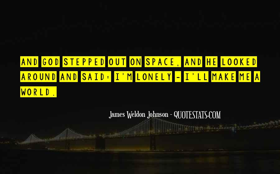 James Weldon Johnson Quotes #86781