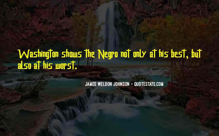 James Weldon Johnson Quotes #995029