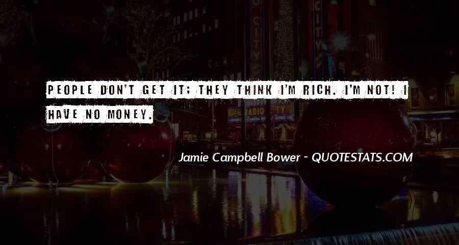 Jamie Campbell Bower Quotes #1304277