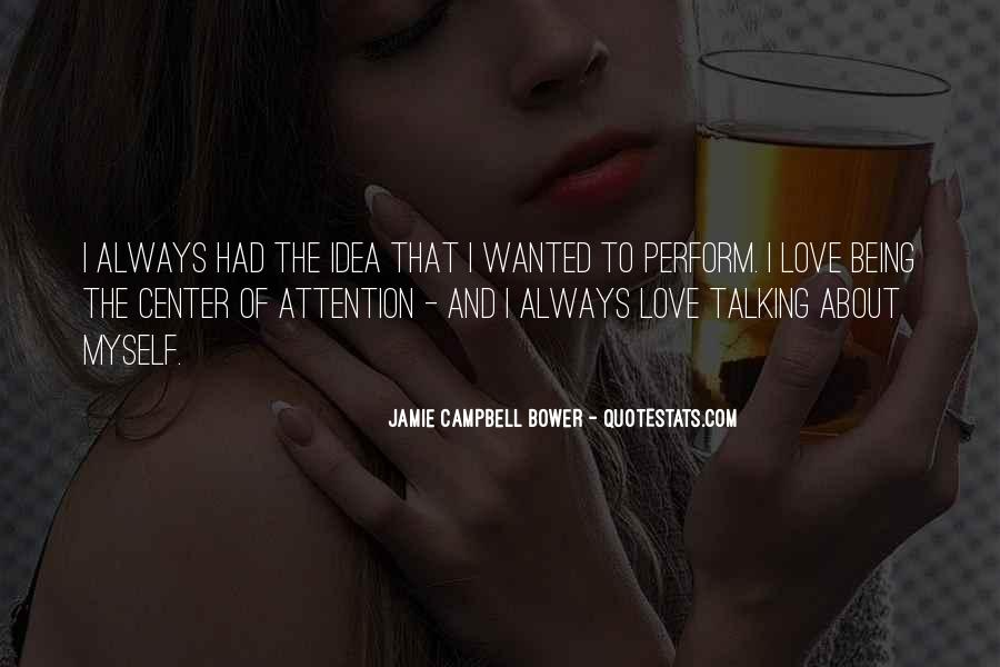 Jamie Campbell Bower Quotes #1532933