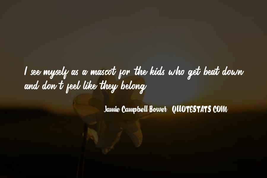 Jamie Campbell Bower Quotes #1615915