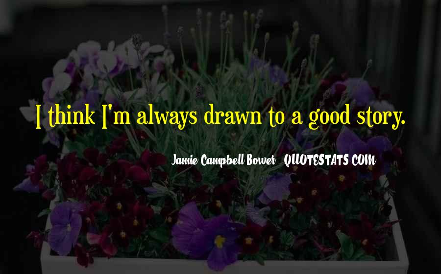 Jamie Campbell Bower Quotes #1775154