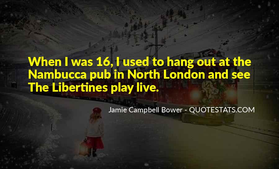 Jamie Campbell Bower Quotes #1842730