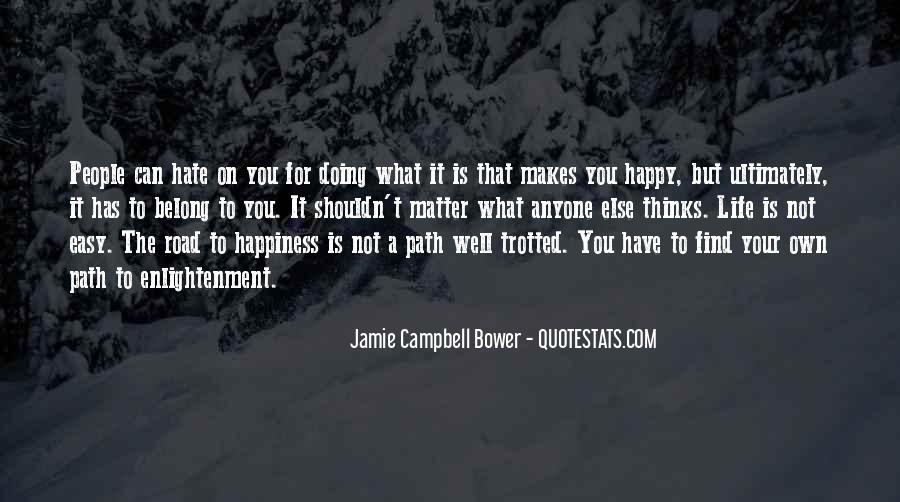 Jamie Campbell Bower Quotes #388033