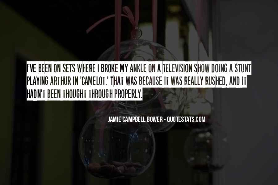 Jamie Campbell Bower Quotes #441241