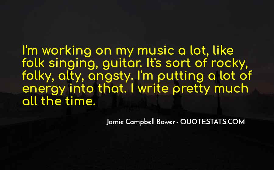 Jamie Campbell Bower Quotes #660690