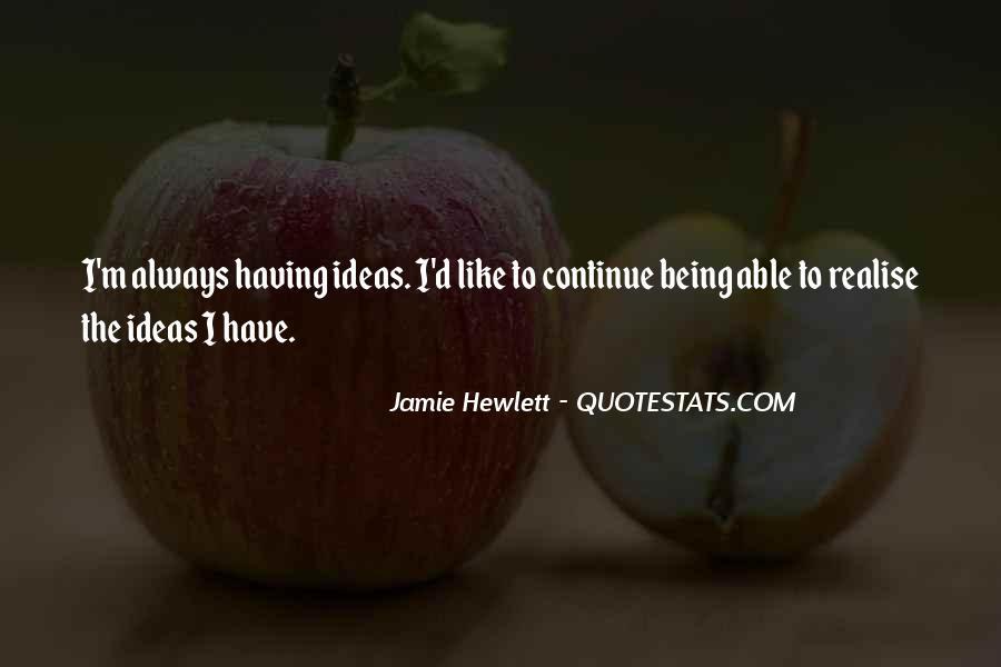 Jamie Hewlett Quotes #1220425