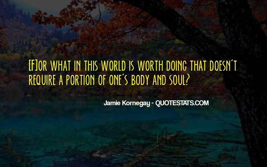 Jamie Kornegay Quotes #133437