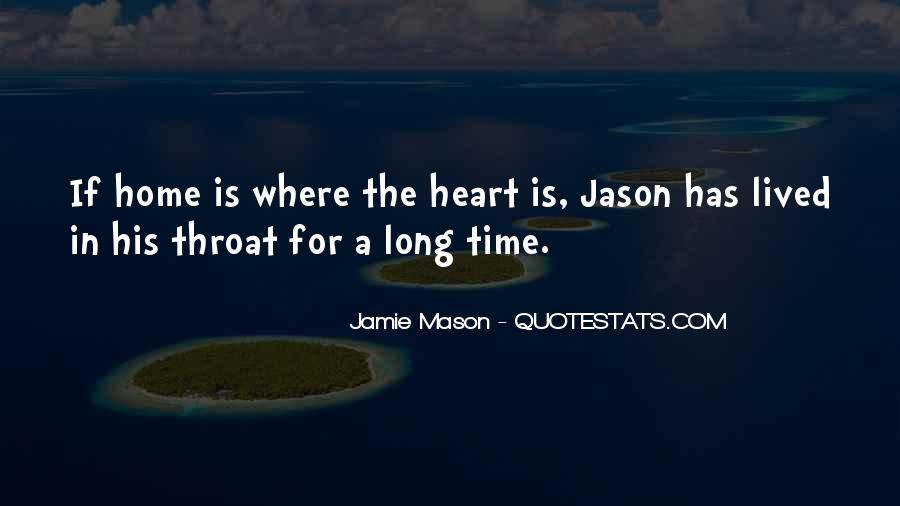 Jamie Mason Quotes #1863995