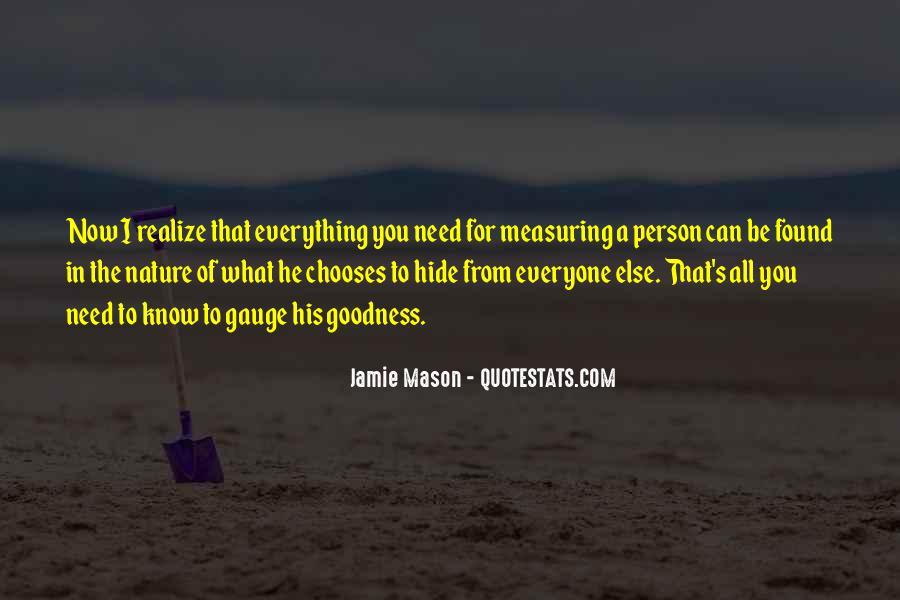 Jamie Mason Quotes #350972