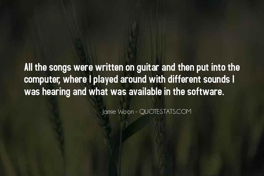 Jamie Woon Quotes #943740