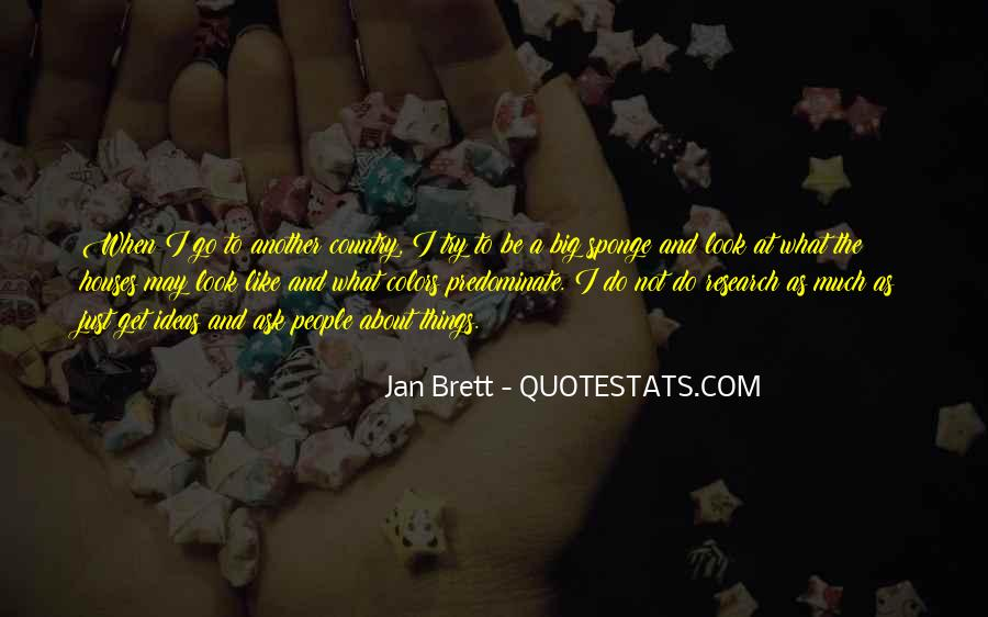 Jan Brett Quotes #1279160