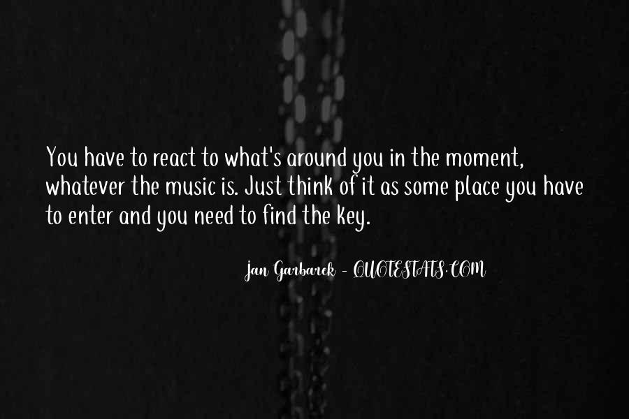Jan Garbarek Quotes #1672598