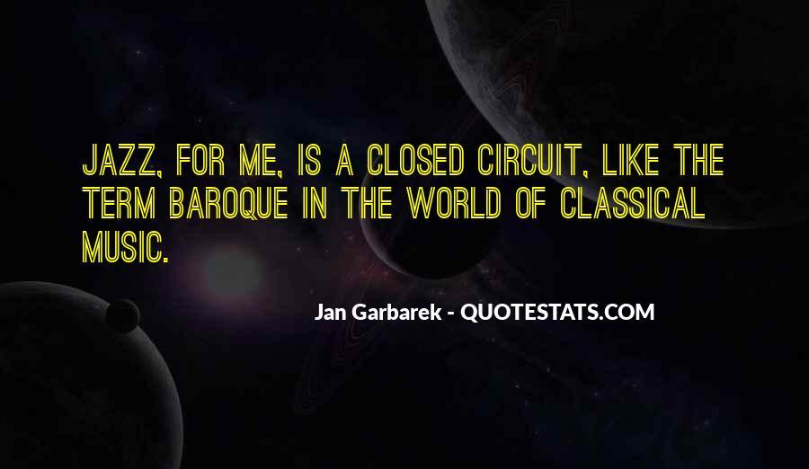 Jan Garbarek Quotes #1768487