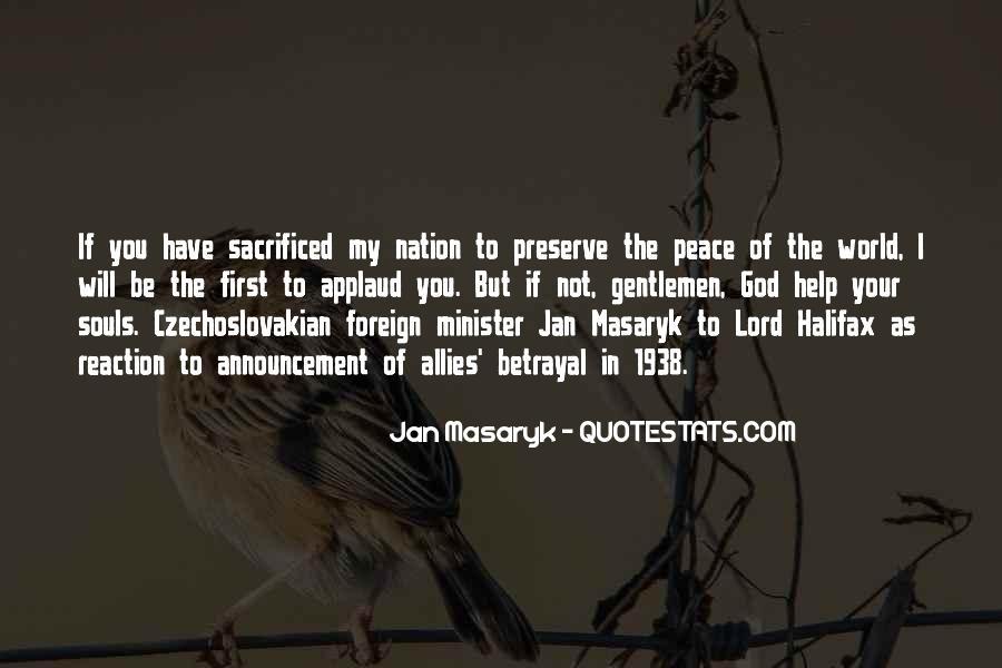 Jan Masaryk Quotes #1715654