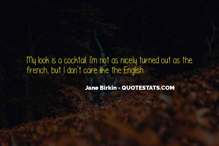 Jane Birkin Quotes #1316523