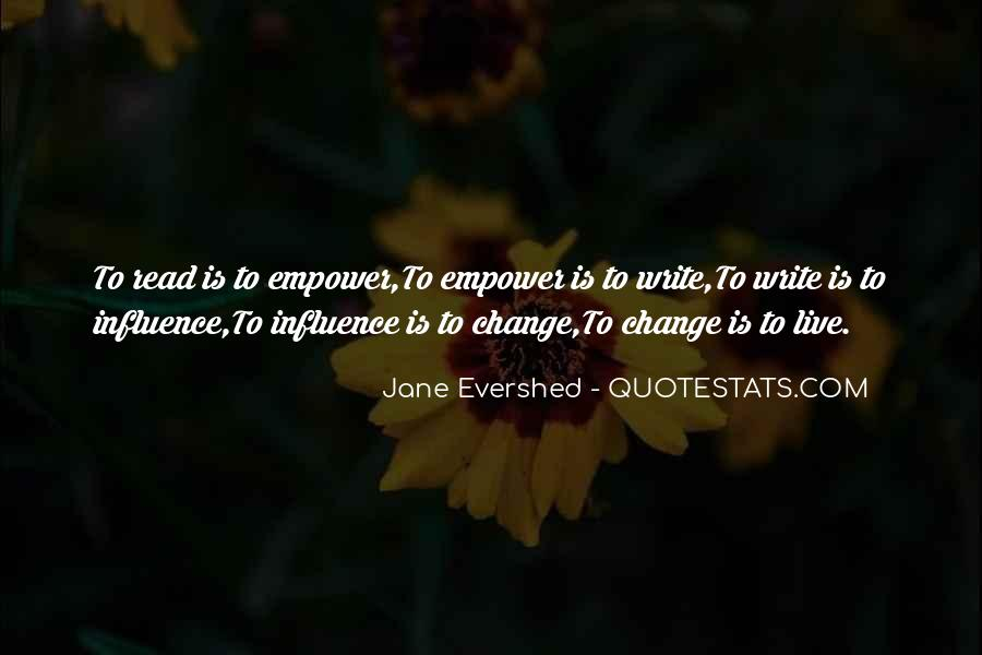 Jane Evershed Quotes #588572