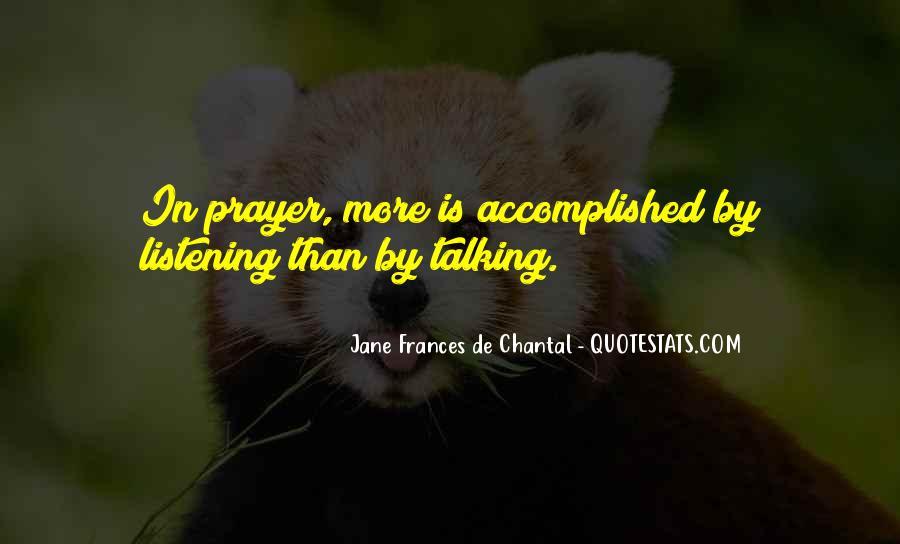 Jane Frances De Chantal Quotes #1826760