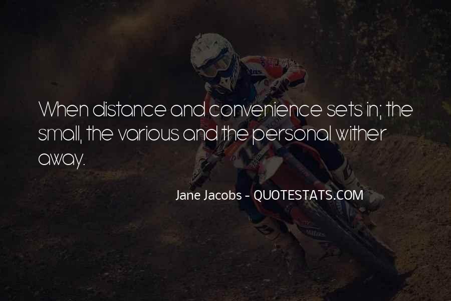 Jane Jacobs Quotes #1226378